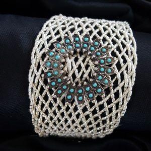 Jewelry - Vintage Buckle Woven Bracelet